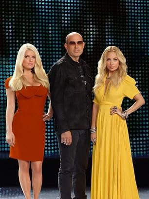NBC Fashion Star Jessica Simpson, John Varvatos, Nicole Richie