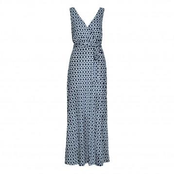 H&M Nbc fashion star nikki poulos beachwear designer printed dress episode 5