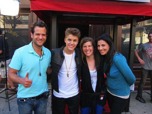 Karri-Leigh Mastrangelo, Justin Bieber