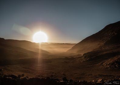 Lever de soleil - Région de Salta