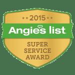 2015 Angie's List Super Service Award Winner Badge