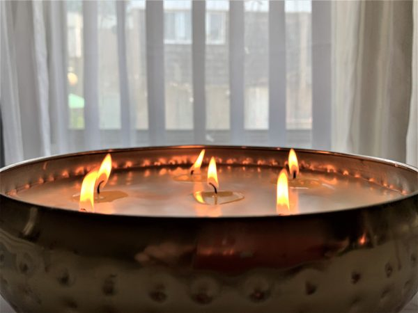 cadillac candle 7 wick candle middle eastern inspired coco apricot wax