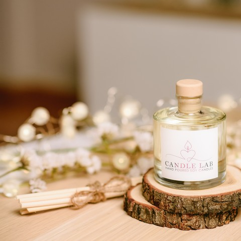 reed diffuser candlelab
