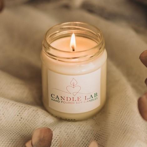 κερί σόγιας σε κλασσικό βαζάκι 212ml