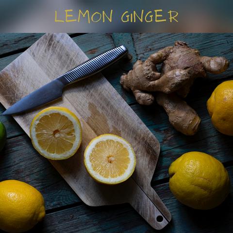 Κερί σόγιας lemon ginger
