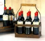 Six Pack Wine Candles