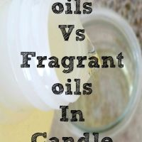 Fragrance Oil Vs Essential Oil in Candle Making