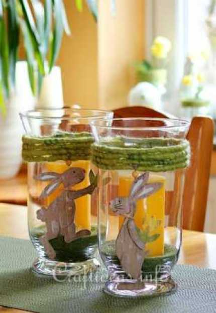 Spring Candle Holders