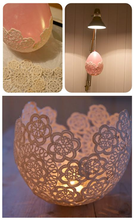 DIY-candle-holders-with-doilie