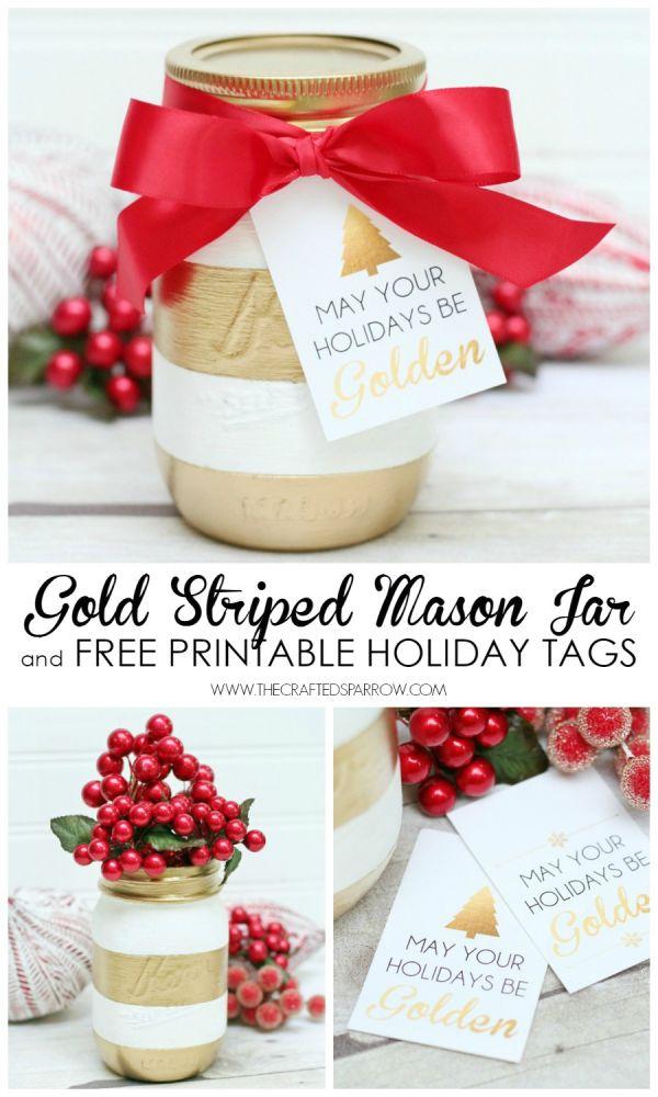 Gold-Striped-Mason-Jar-1