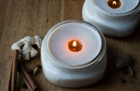 Make Your Own Chai Candles
