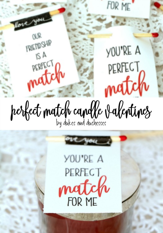 You're A Perfect Match For Me – Printable