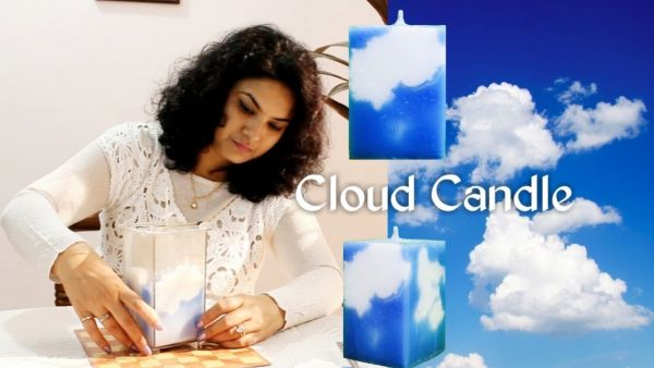 How To Make A Cloud Candle