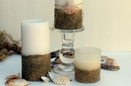 Sandy Beach Candles