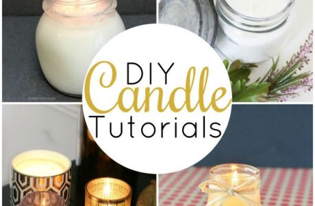 DIY Candle Making Tutorials