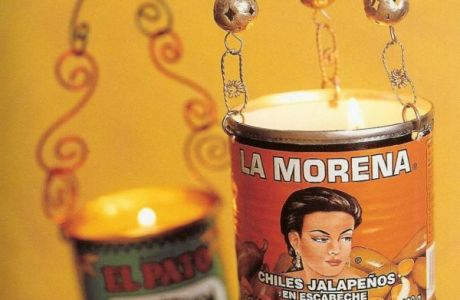 Spicy Candle Holders From Recycled Tins
