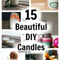 15 Beautiful DIY Candles