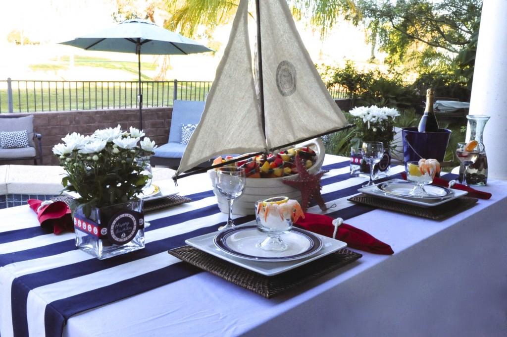 Nautical Sailboat Birthday Party
