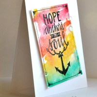 Neat & Tangled February Release, Day 1: Hope Anchors