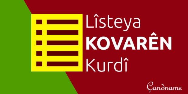 Lîsteya Hin Kovarên Kurdî