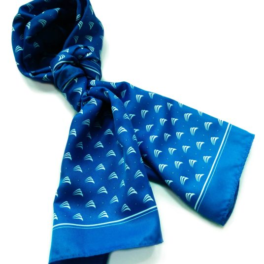 Seacoast Commerce Bank long polyester scarf