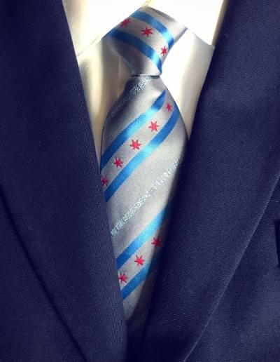 City of Chicago tie