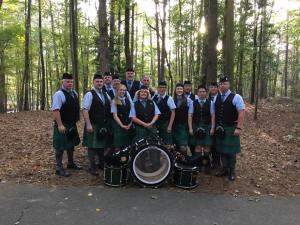 Bergen Irish Pipe Band at Stone Mountain Highland Games