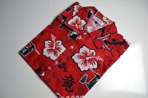 VMM 265 Dragons, squadron, hawaiian shirt, red, dragon
