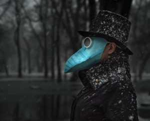 cool mask designs like plague masks