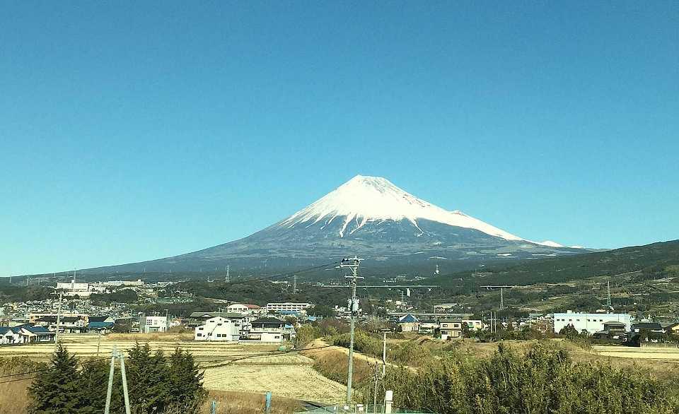 富士山を間近で