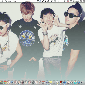 Multiple desktops + BigBang & TVXQ Wallpapers :)