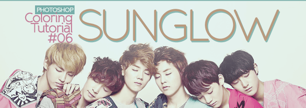 Photoshop: Coloring Tutorial #06: Sunglow + EXO-M, SHINee, Song JoongKi, Kim JaeJoong Wallpapers