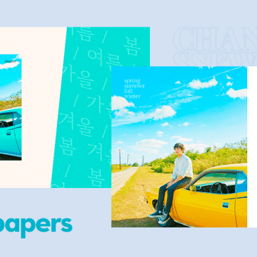 "Wednesday Wallies: Chanyeol ""Spring Summer Fall Winter"" in celebration of his first ever solo track!"