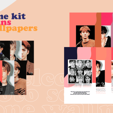 EXO-L Welcome Kit – A5 Photo Scans + Phone Wallpapers
