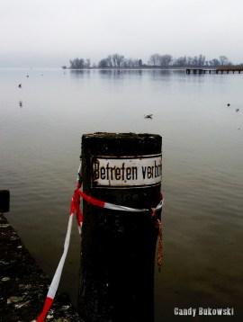 Ammersee Betreten verboten