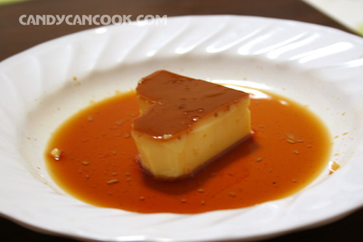 heart-shaped caramel