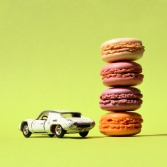 candy cars maCARons Porsche Gieselberg