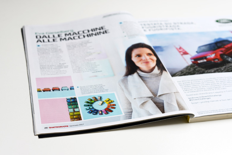 Quattroruote Presseartikel Eva Gieselberg