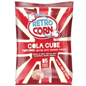 Bag of cola cube popcorn