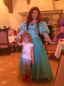 Ariel, princess meet and greets, disneyland