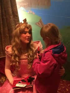 Meeting Aurora, Sleeping Beauty