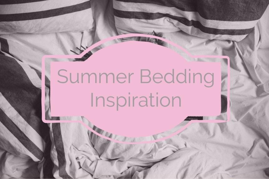 summer bedding inspiration