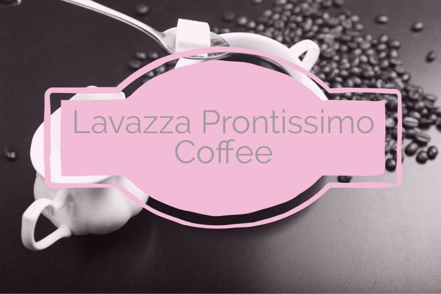 lavazza prontissimo coffee