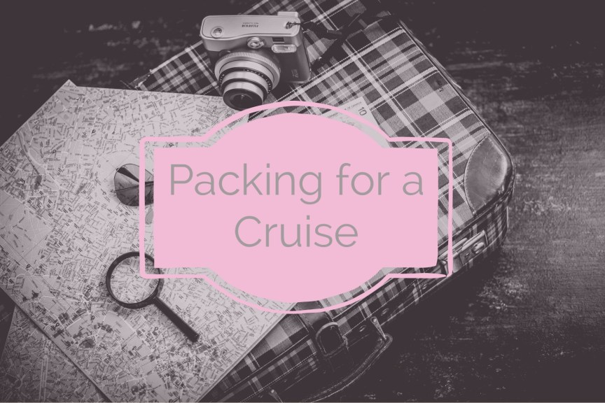 packing for a cruise
