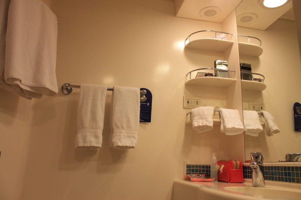 azura balcony cabin ensuite, bathroom storage cabin