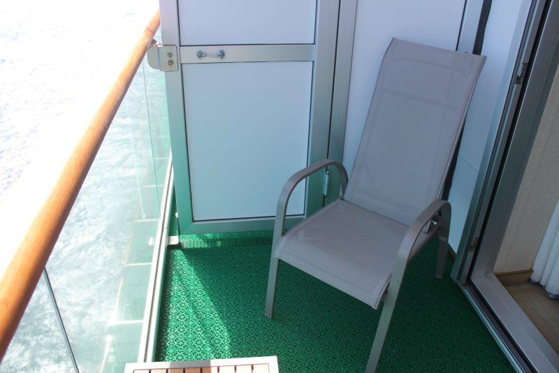 Cruising for Beginners, Azura Balcony Cabin P&O