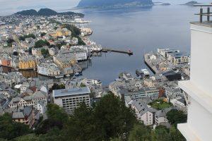 Visiting Alesund, Norway