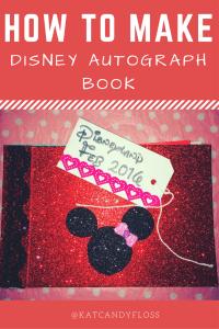 disneyland, disney, disney autograph book