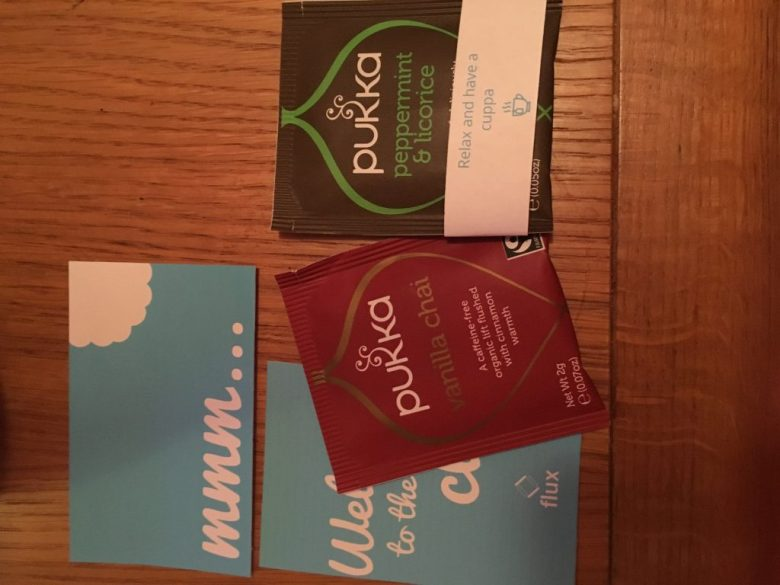 pukka tea, flux period subscription box, what tea comes with period subscription box