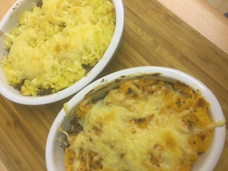 individual cottage pie